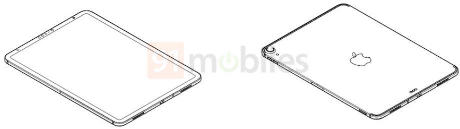 iPad AIr 4 schéma industriel