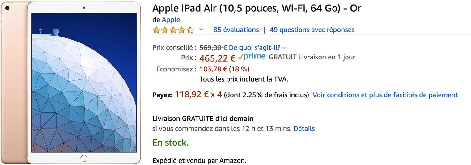 iPad Air 3 Amazon