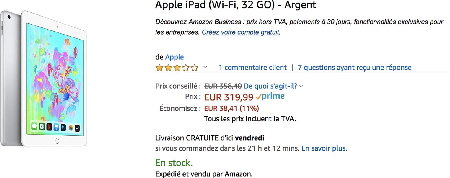 iPad promo Amazon