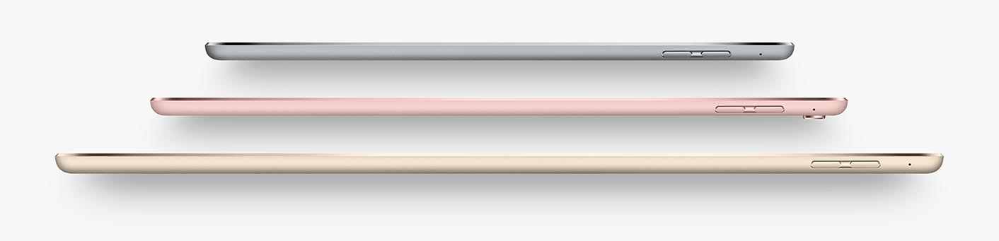 iPad tailles