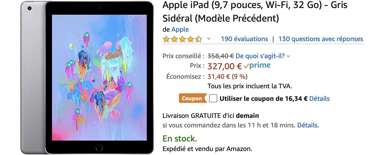 iPad coupon Amazon