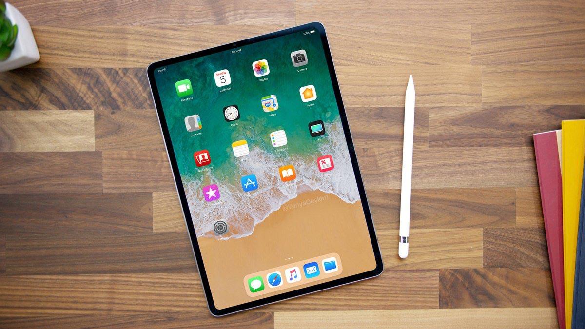 iPad Pro 2018 rendu Benjamin Geskin