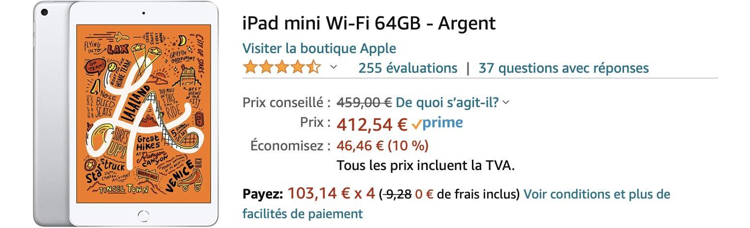 iPad mini Amazon promo