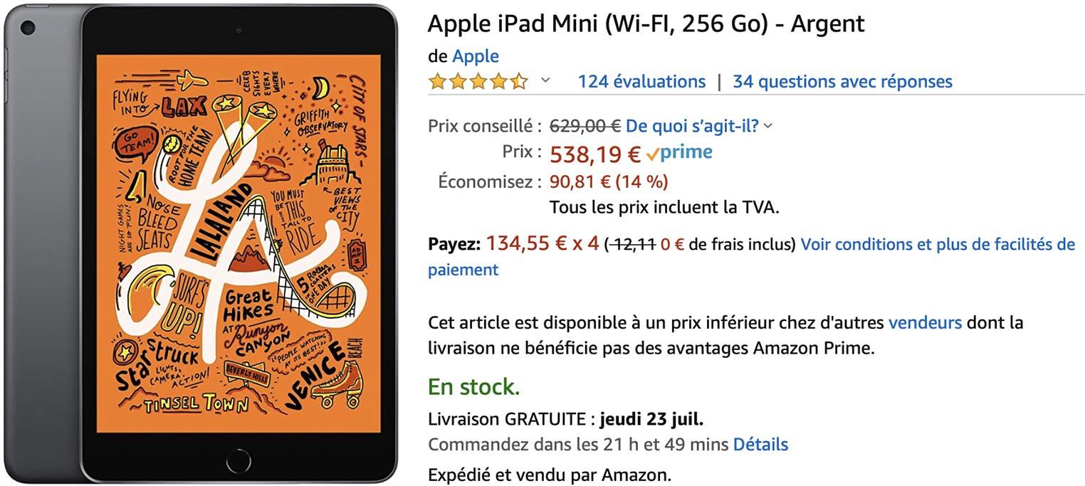 iPad mini 5 Amazon