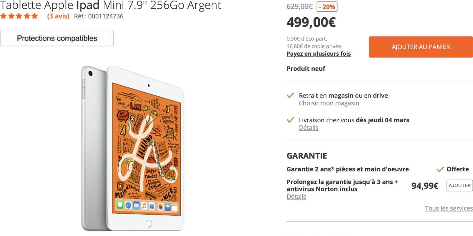 iPad mini 5 promo Amazon