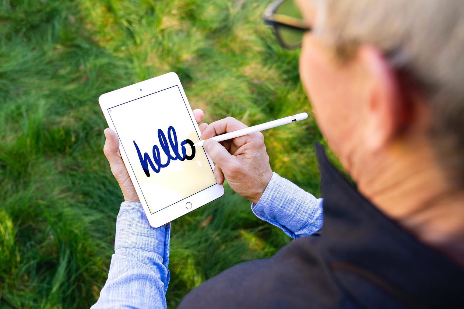 iPad mini 5 Tim Cook