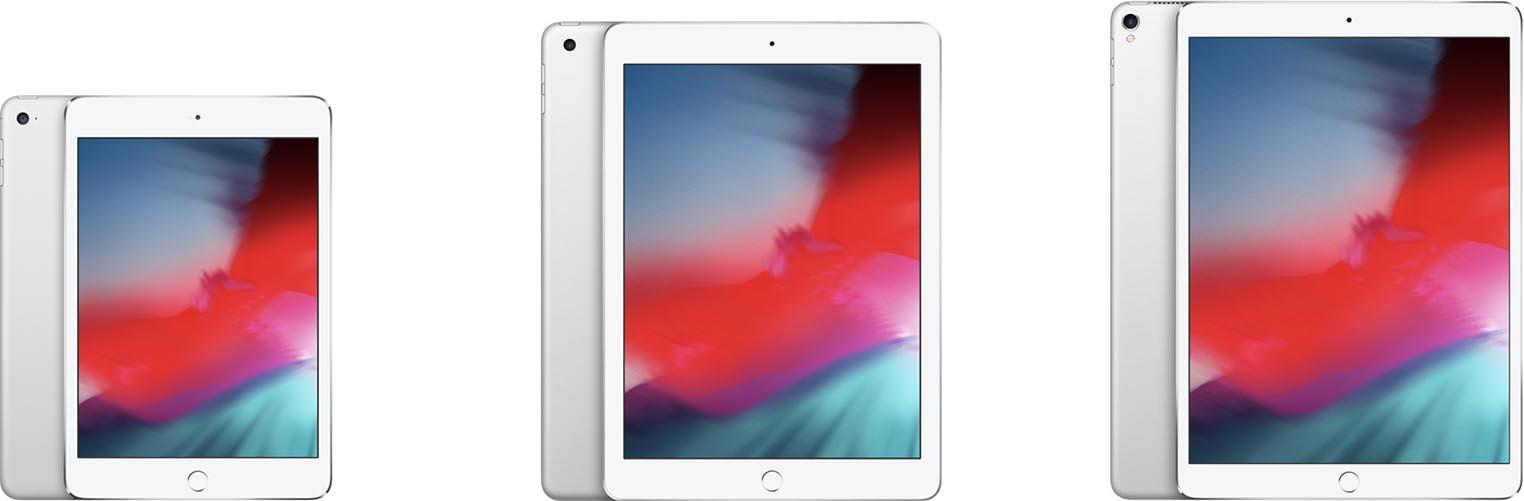 iPad mini iPad 9,7 iPad Pro 10,5