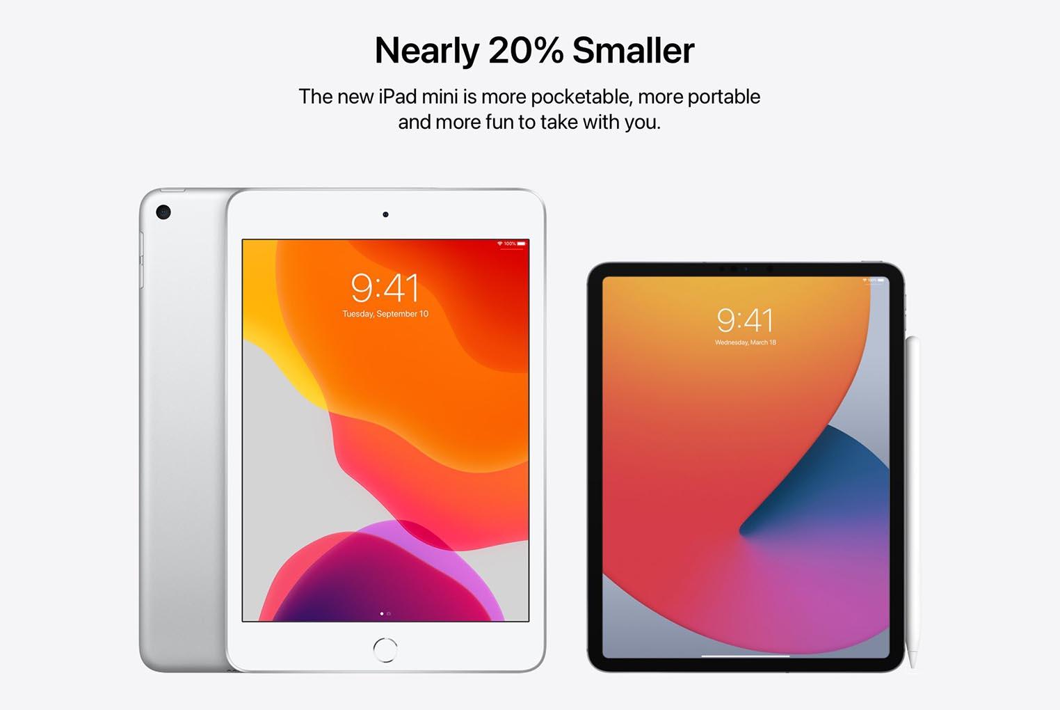 iPad mini Pro concept