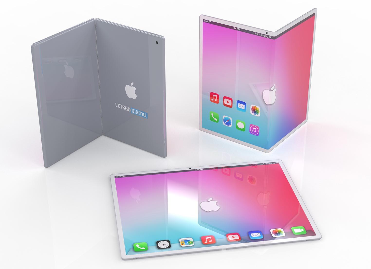 Concept iPad pliable