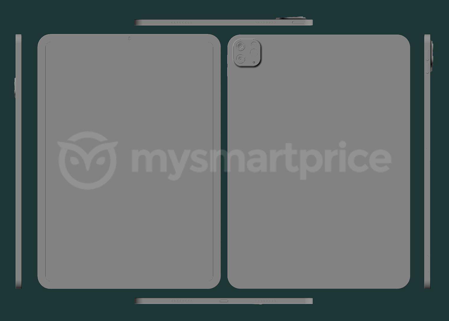 iPad Pro 2021 CAD