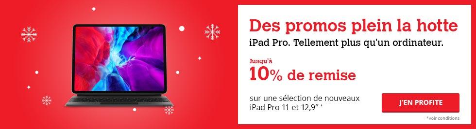 iPad Pro promo Darty