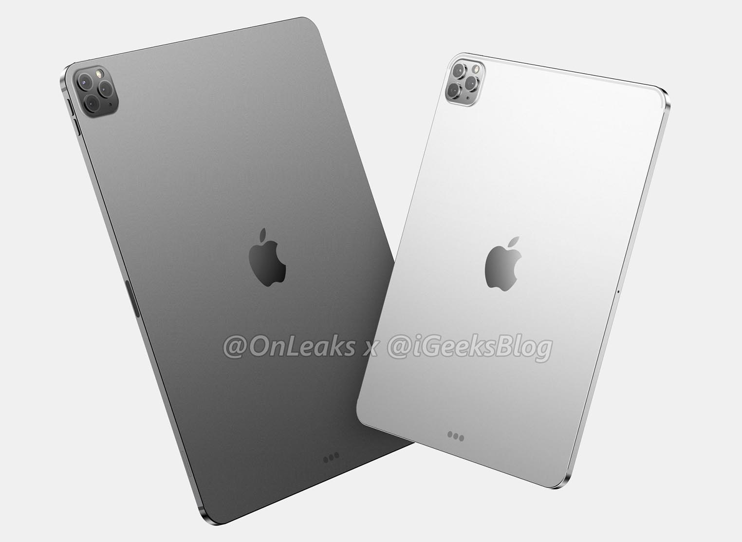 iPad Pro 2020 rendus