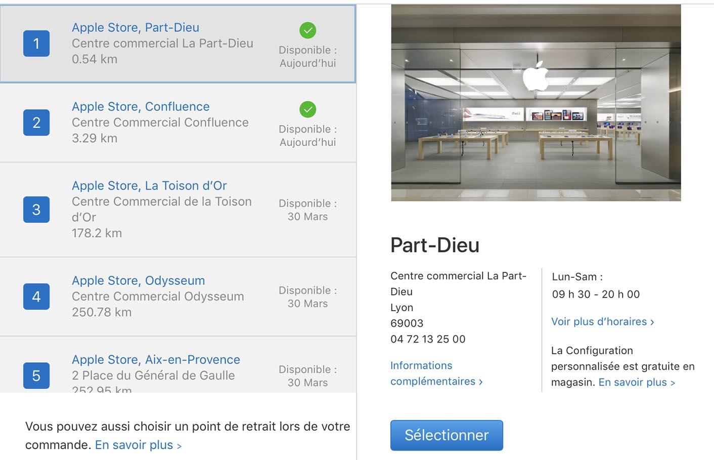 iPad Pro stocks Apple Store