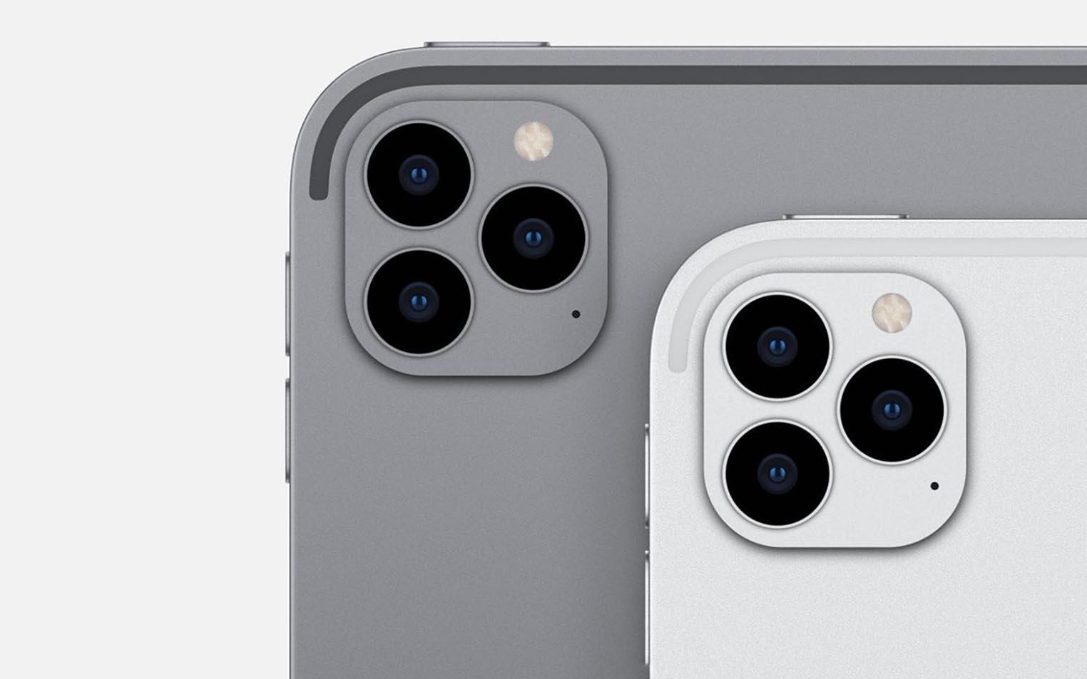 iPad Pro triple caméra