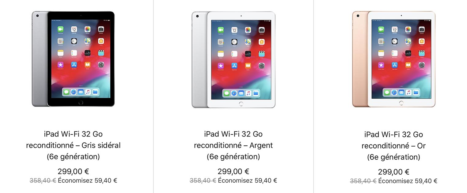 iPad 6 Refurb Store