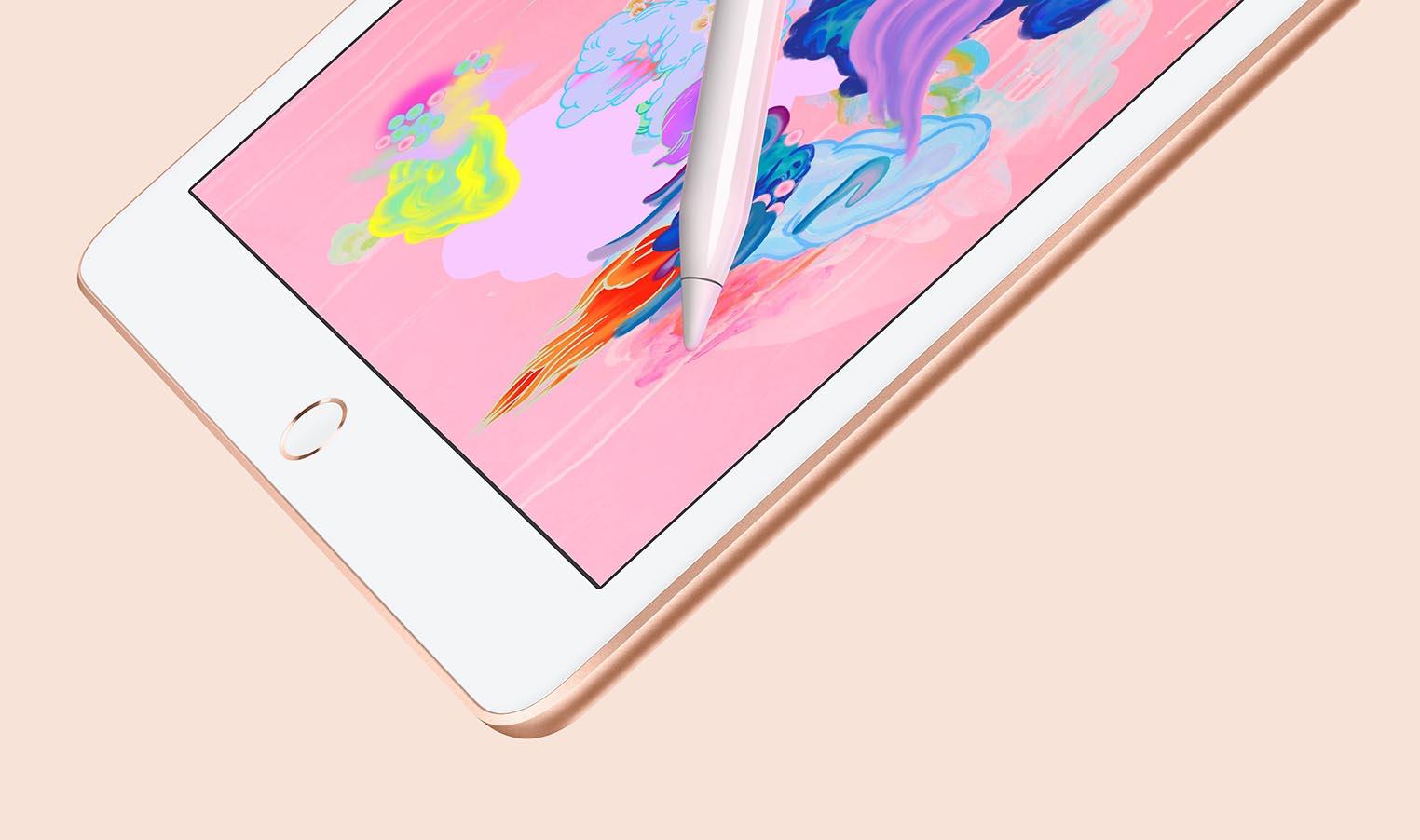 iPad 2018 doré