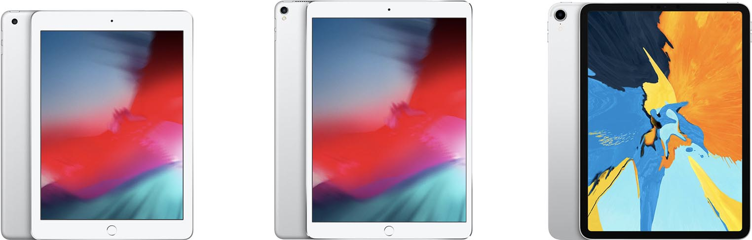 iPad iPad Pro comparaison