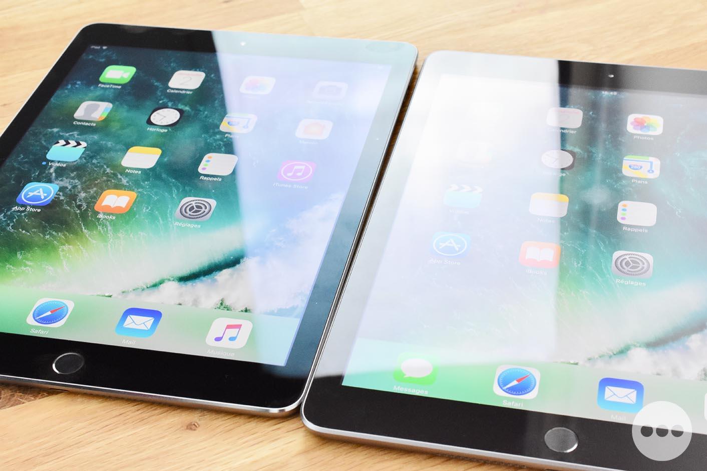 iPad 5 reflets écran