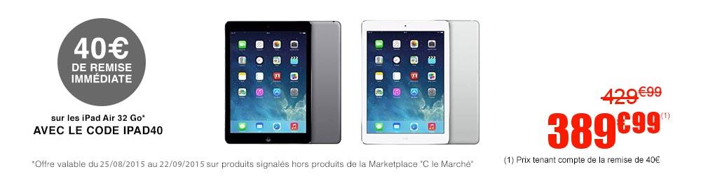 iPad Air 32 Go CDiscount