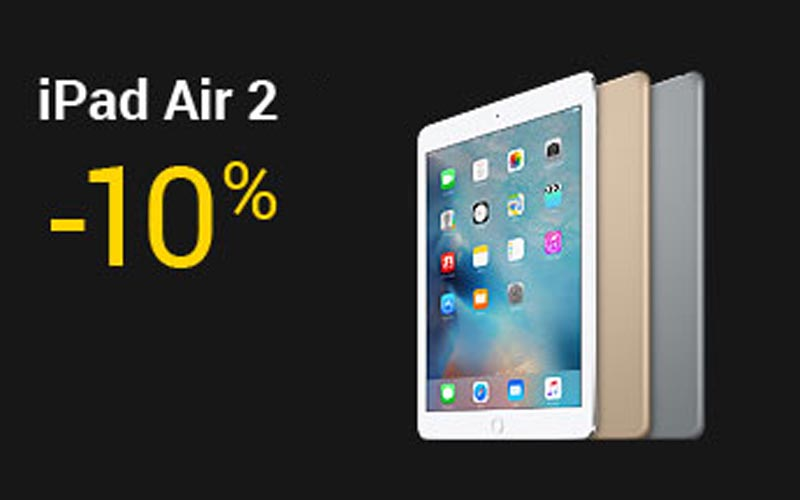 consomac fnac 10 sur les ipad air 2 de 64 et 128 go. Black Bedroom Furniture Sets. Home Design Ideas