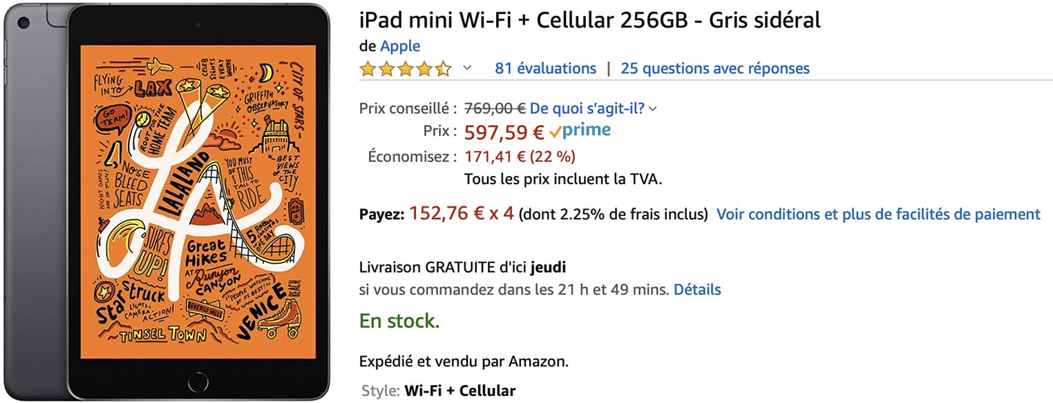 iPad mini Amazon