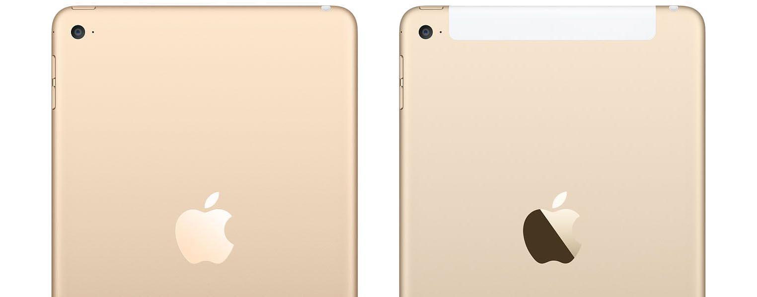 iPad mini 4 antennes