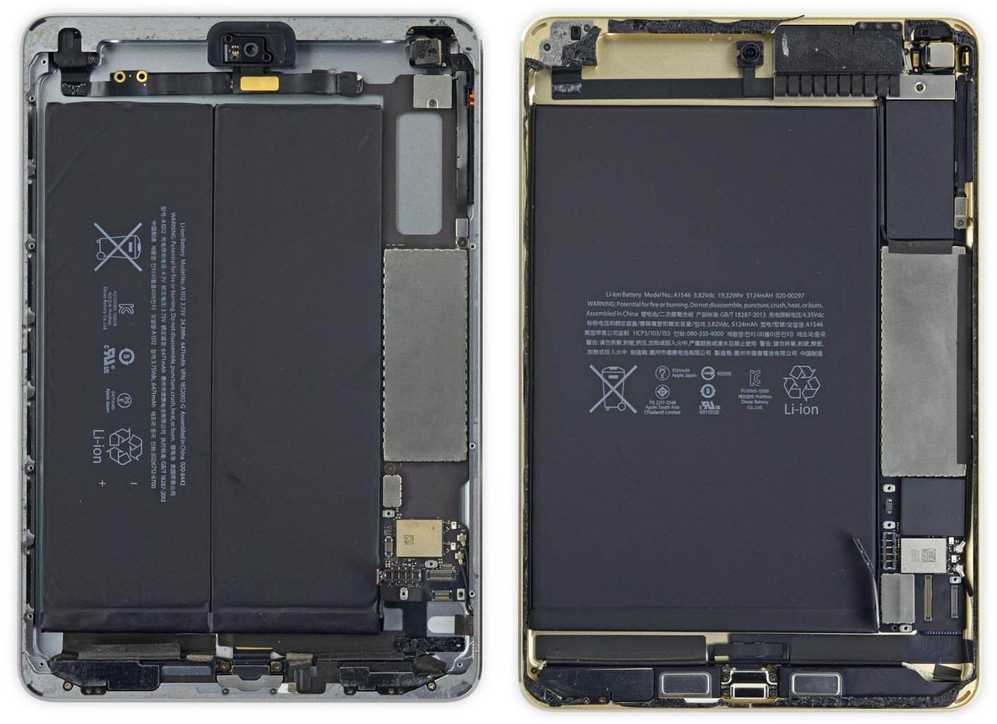 iPad mini batterie iFixit
