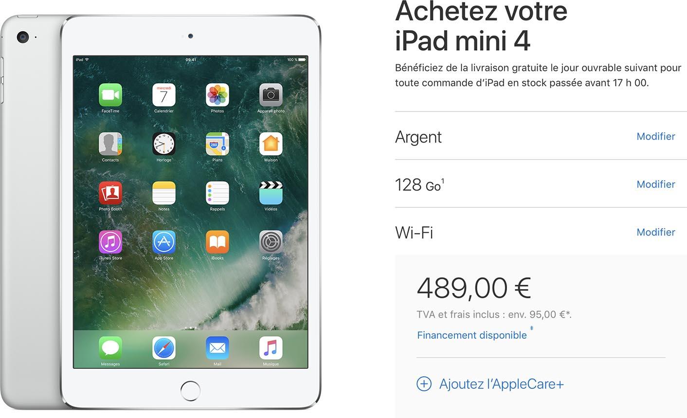 iPad mini 4 Apple Store