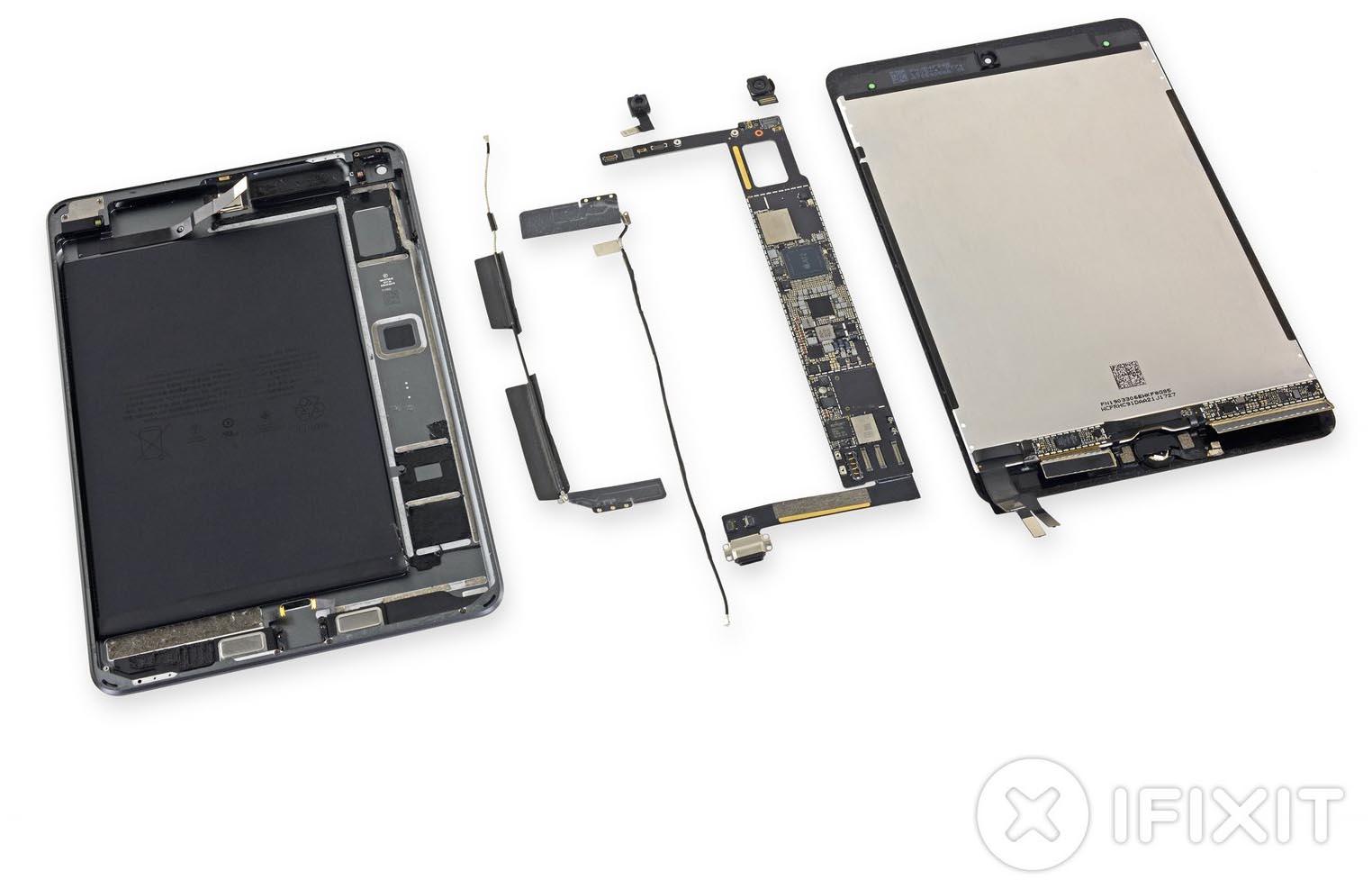 iPad mini 5 démontage iFixit