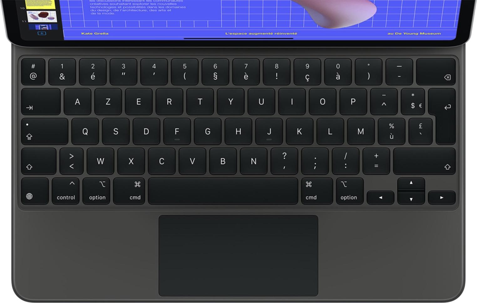 iPadOS 14 Magic Keyboard