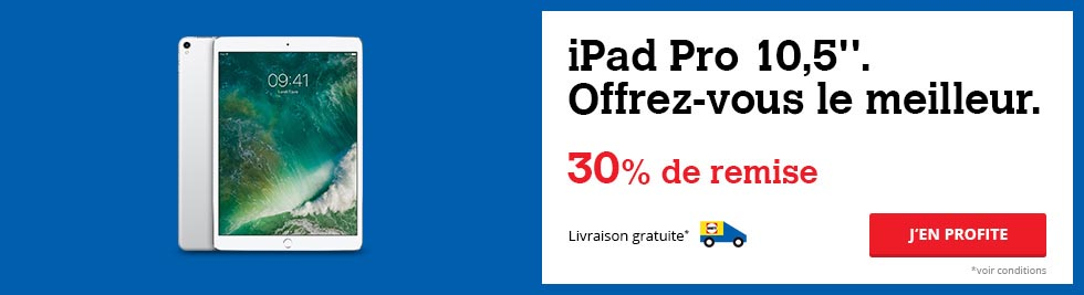 iPad Pro 10,5 pouces promo Darty