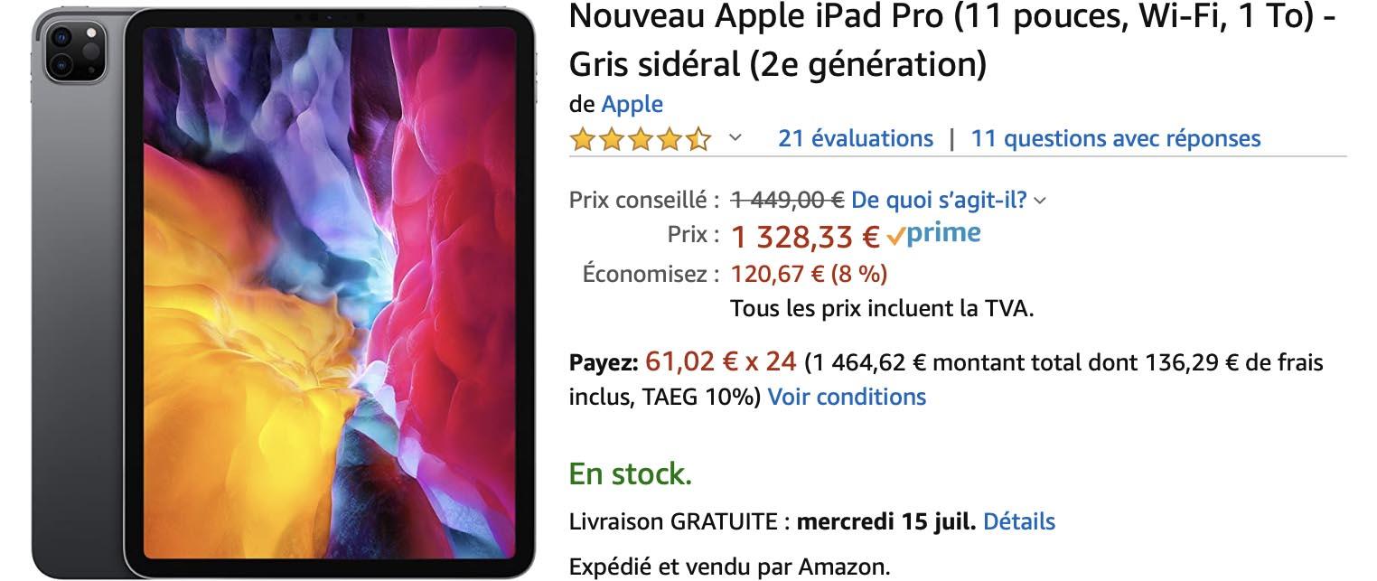 iPad Pro 2020 Amazon