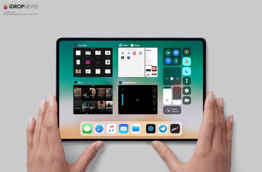 iPad Pro 2018 Concept Benjamin Geskin