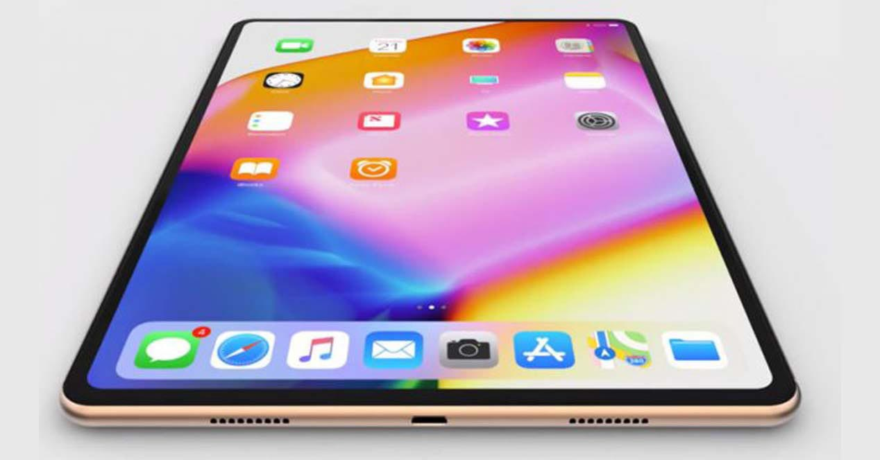 iPad Pro 2018 USB-C rendu