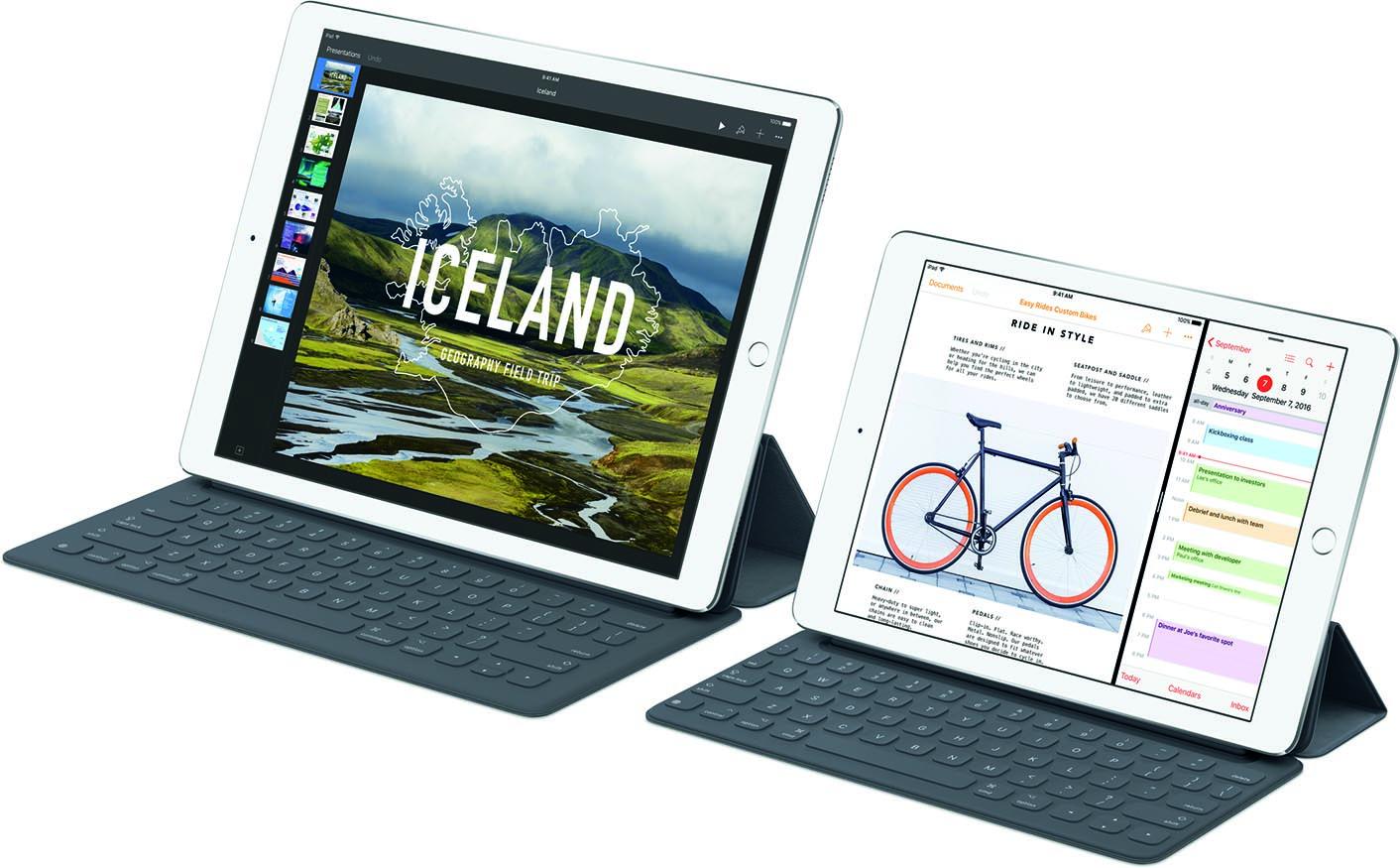Gamme iPad Pro 2016