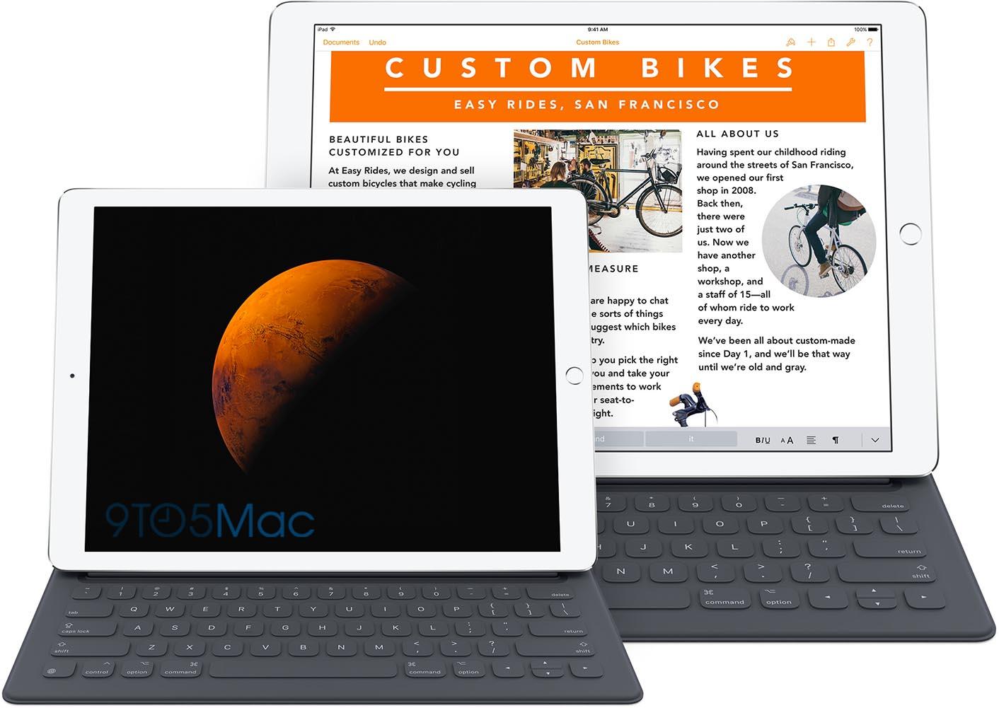 iPad Pro 9,7 montage