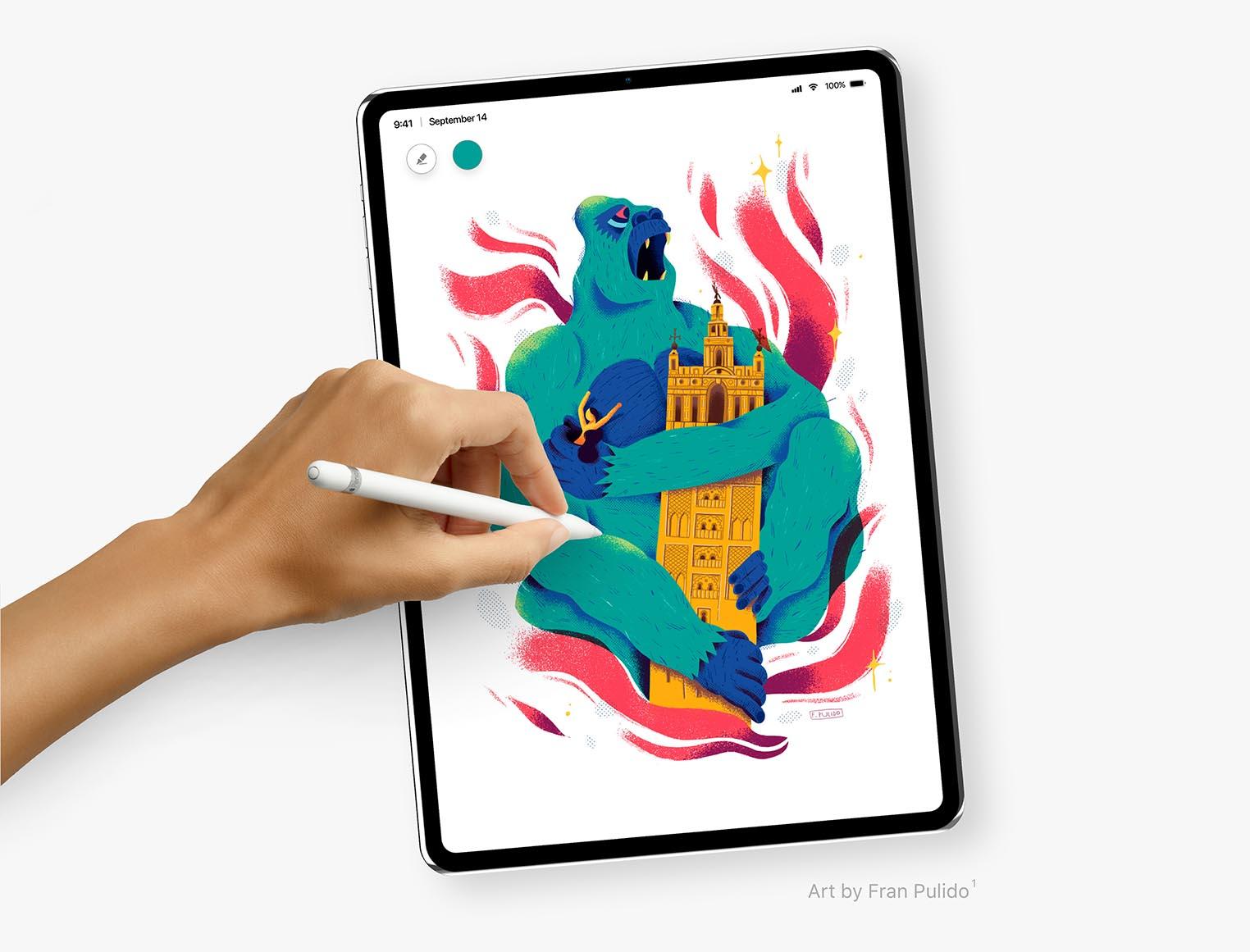 iPad Pro 2018 concept