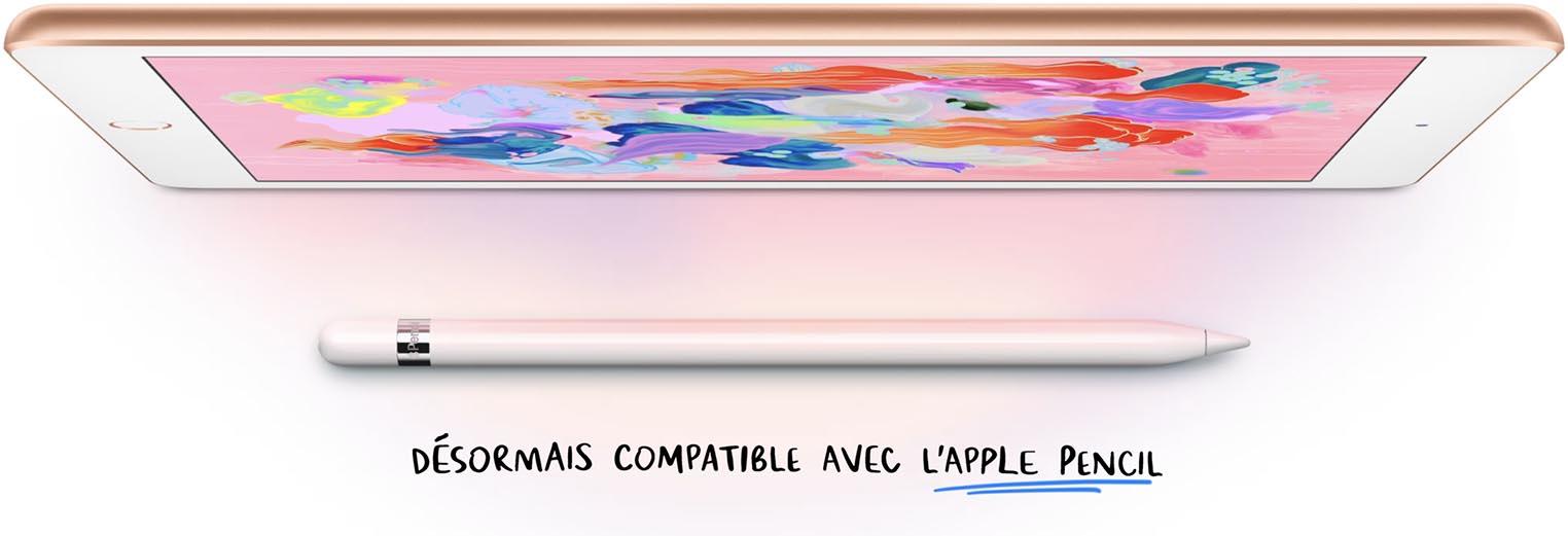 iPad 2018 compatible Apple Pencil
