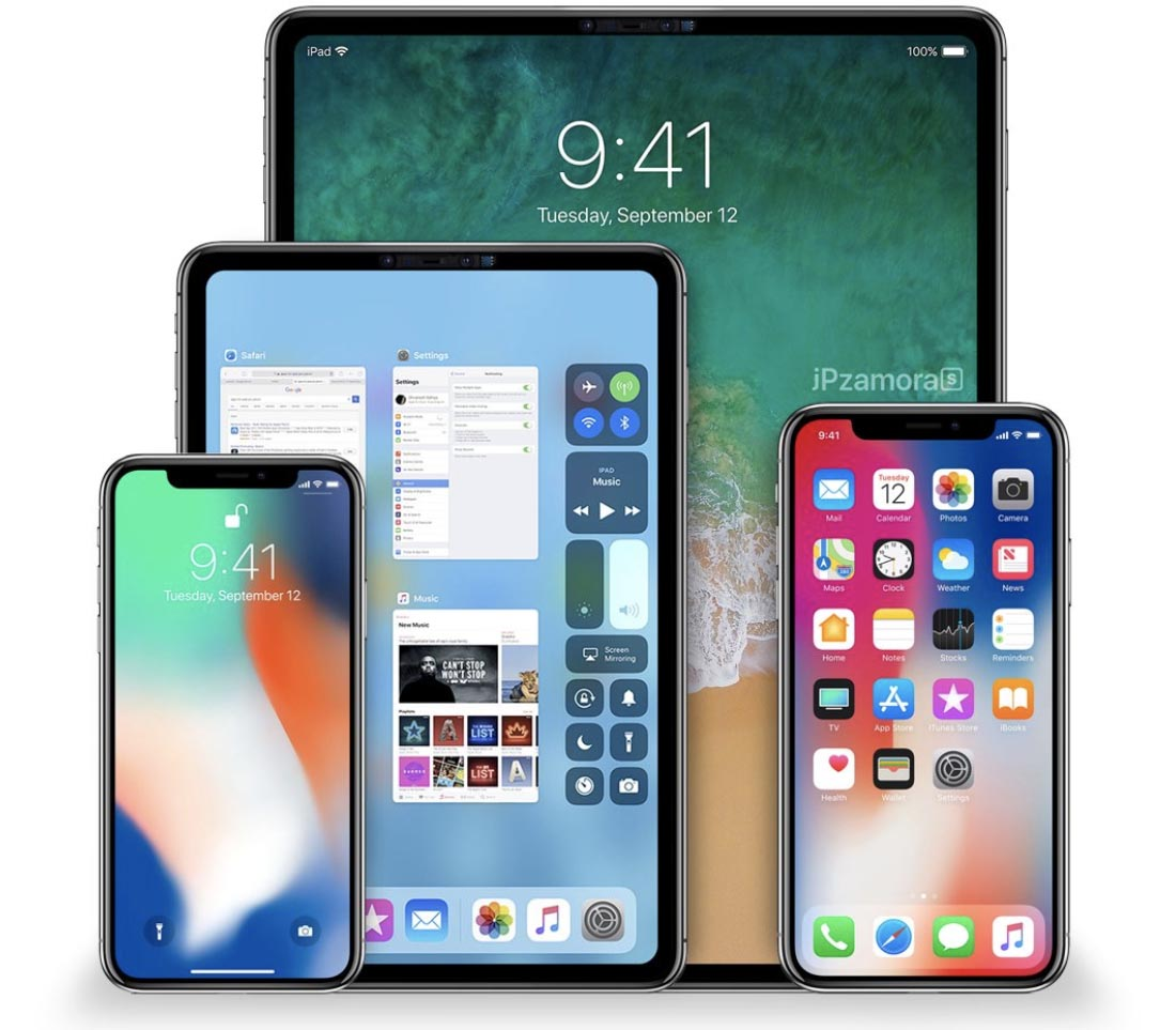 Concept iPad Pro FaceID