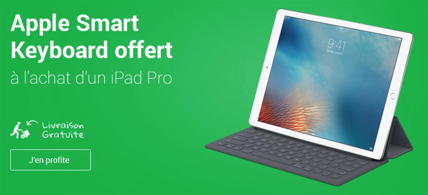 iPad Pro Smart Keyboard promo Fnac