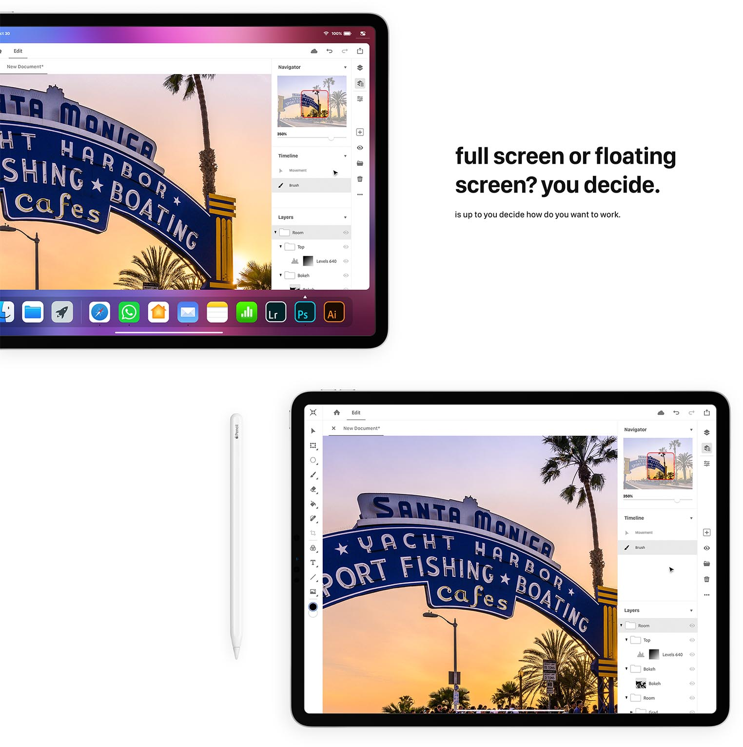 iPad Pro concept souris