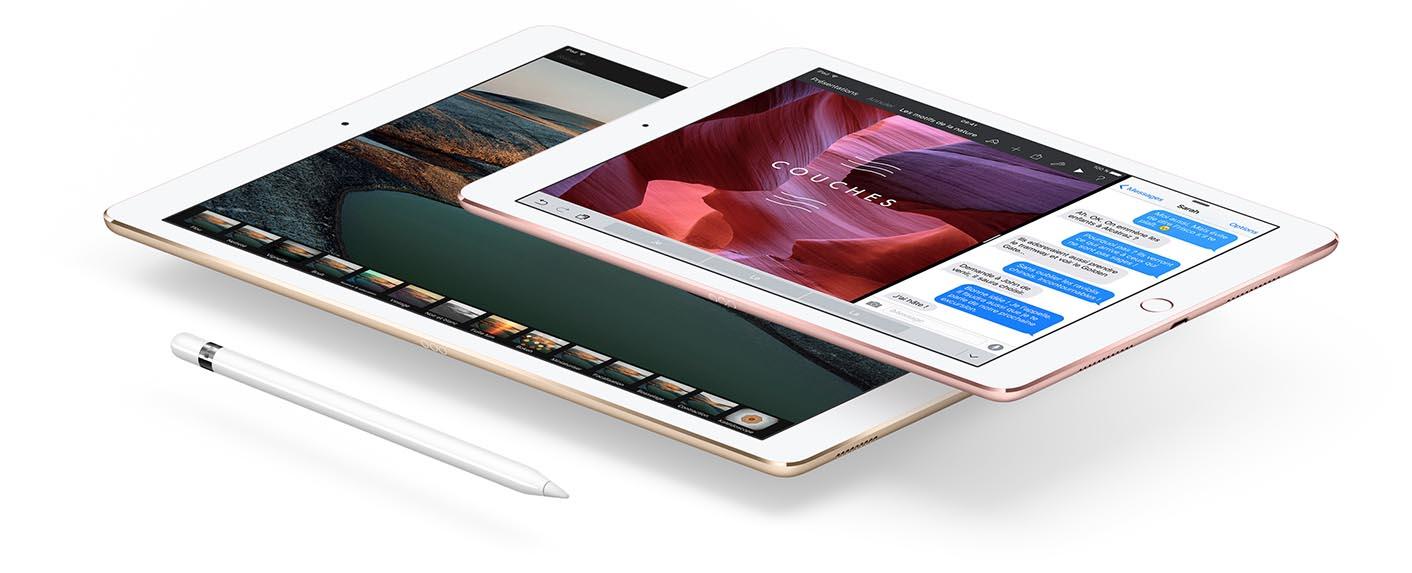 iPad Pro tailles