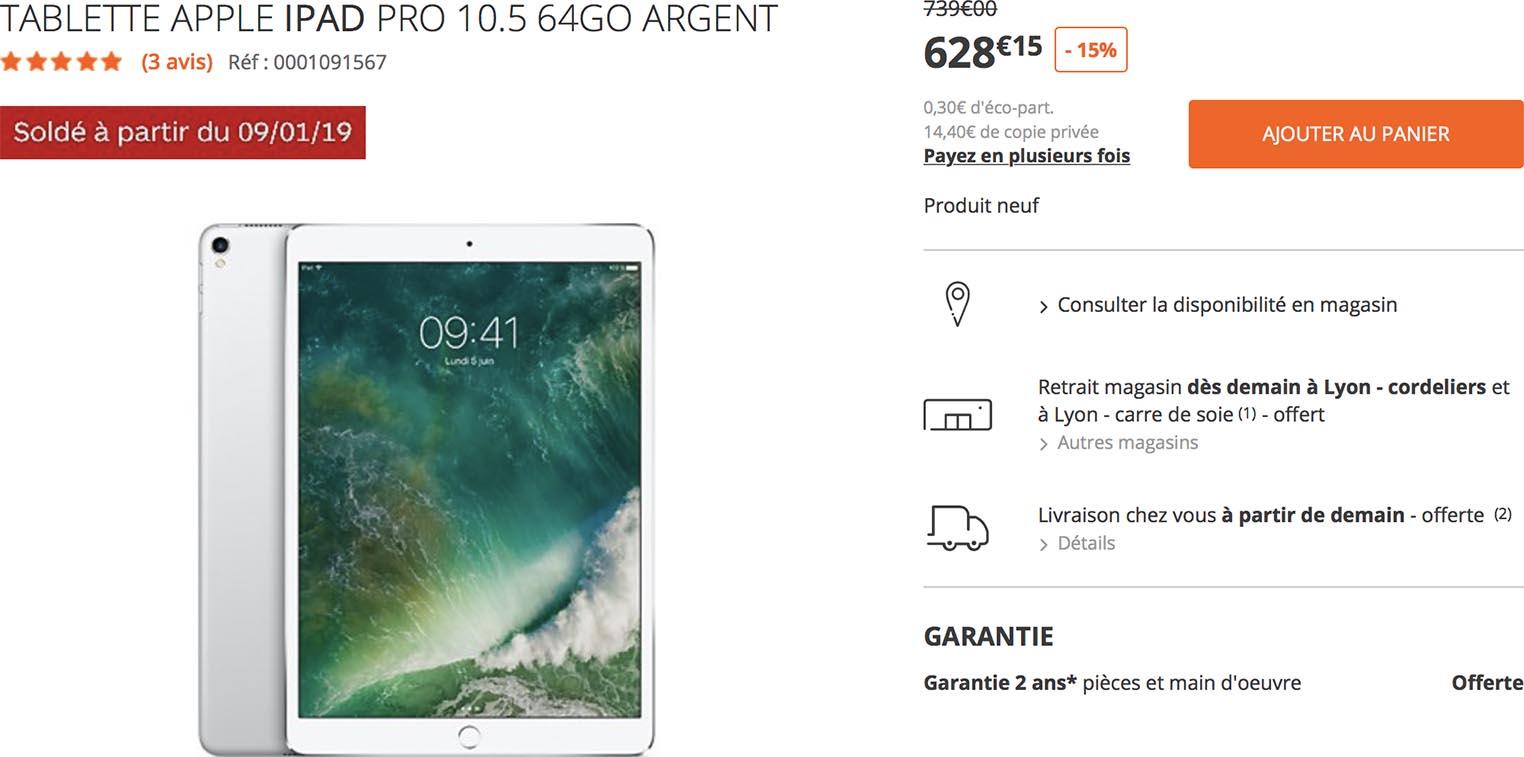 iPad Pro soldes