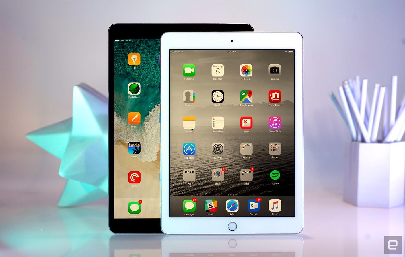 iPad Pro 10,5 pouces comparaison taille