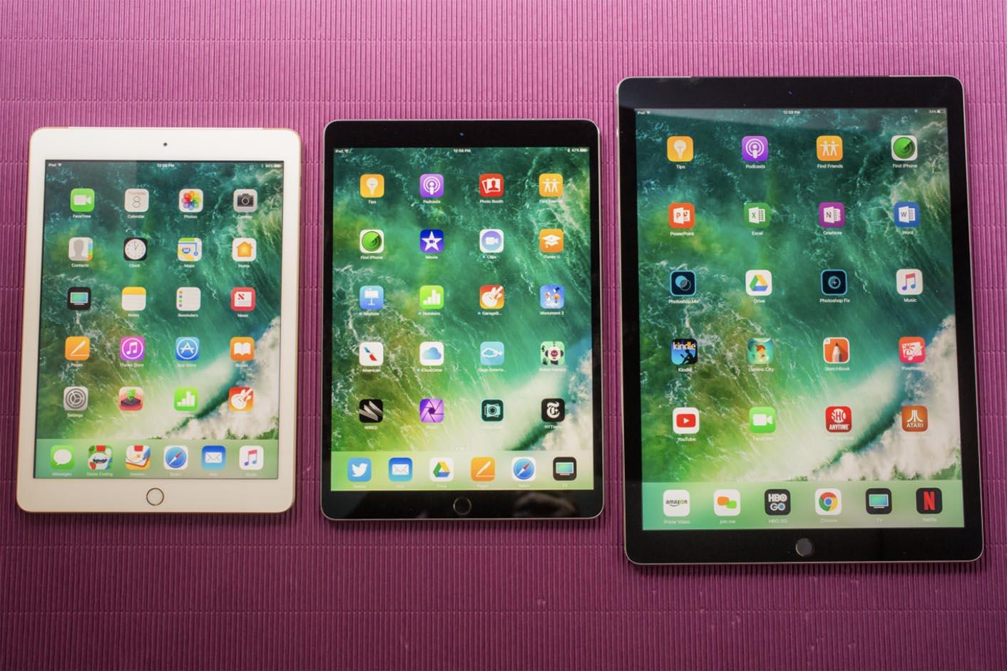 iPad Pro 10,5 pouces taille