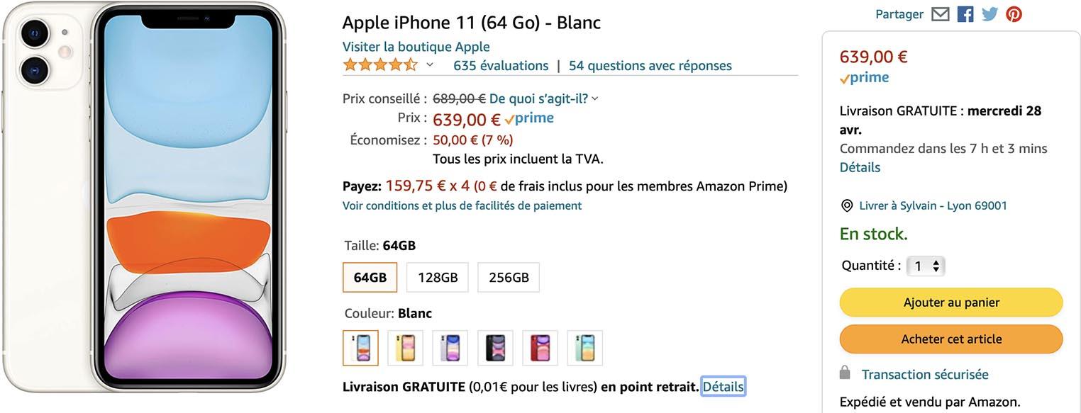 iPhone 11 Amazon