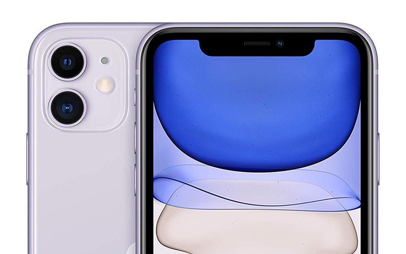 L'iPhone 11 mauve de 64 Go à 769 €