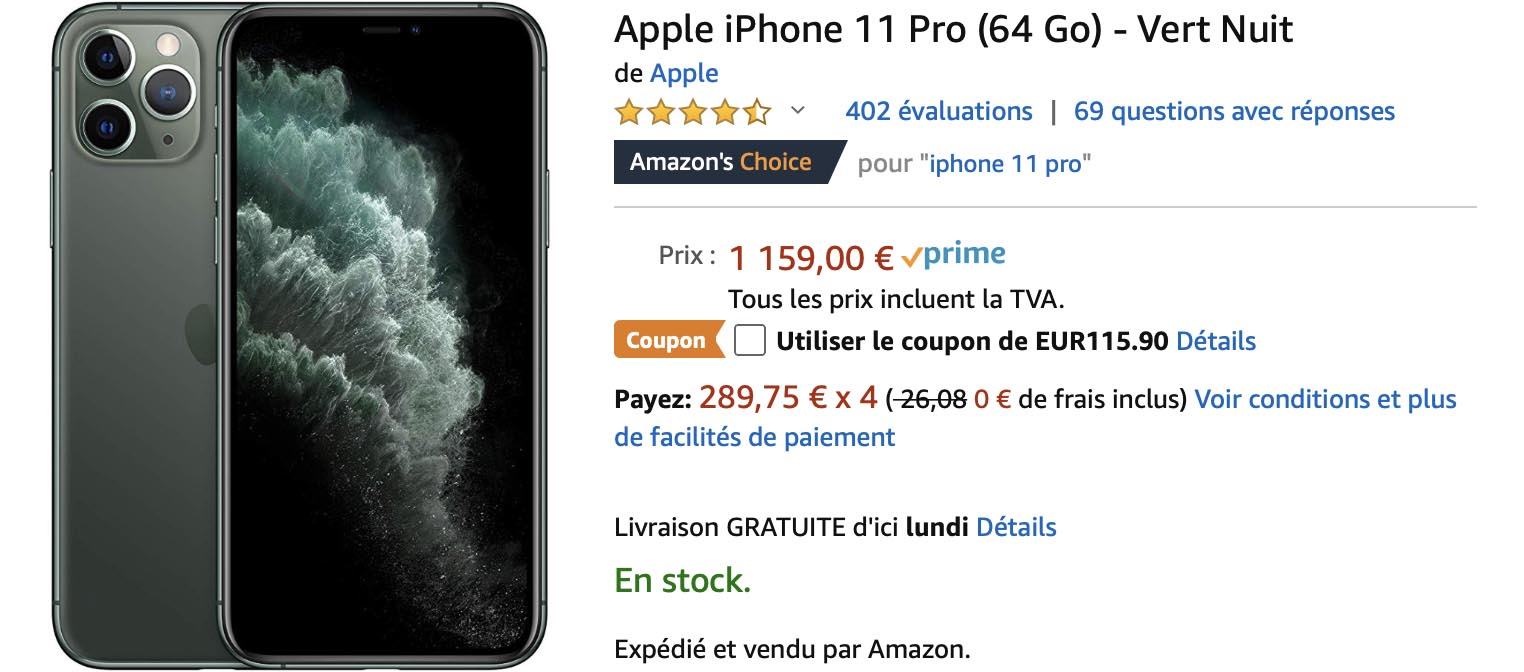 iPhone 11 Pro Amazon