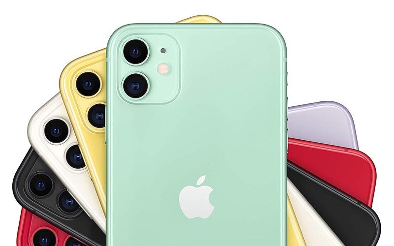 50 € de remise sur l'iPhone 11 vert de 128 Go
