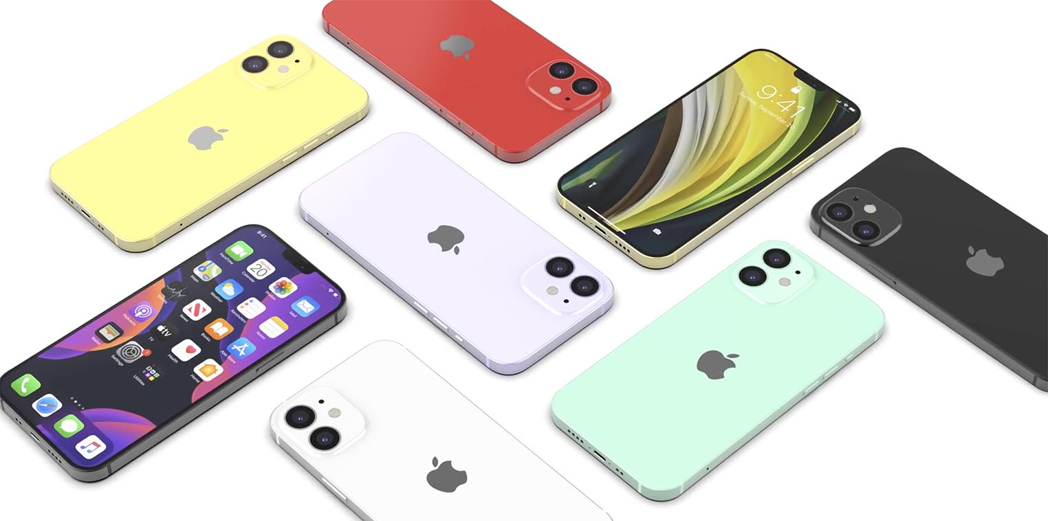 iPhone 12 coloris